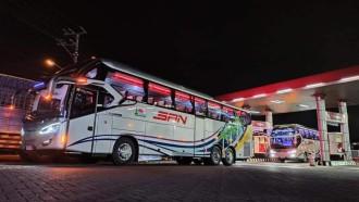 Bus Baru PO SAN Pakai AC Khusus Pencegah Corona