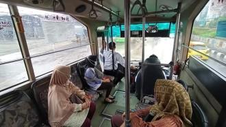 Menjajal Layanan Transjakarta Non-koridor Terintegrasi, Senyaman Apa?