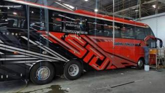 PO Sudiro Tungga Jaya Punya Bus Baru, Berjuluk Samoa