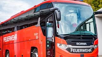 Gagahnya Bus Pemadam Kebakaran Austria Dari Scania