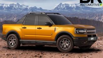 Ford Maverick Bakal Bertampang Bronco, Bakal Seperti Ini?