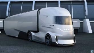 Ford F-Vision, Truk Bersih Dengan Teknologi Autonomous Level 4