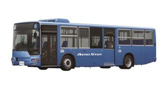 Fuso Luncurkan Bus Kota Aero Star Baru Dilengkapi Fitur Keselamatan Baru