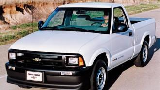 Chevrolet S-10 EV, Pelopor Pikap Listrik Dunia