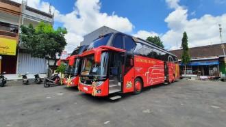 Bus Tronton Baru PO Gunung Harta, Siap Isi Rute Denpasar-Jogjakarta