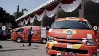 Mobil Vaksin Keliling Resmi Dilepas Di Jakarta, Andalkan Bus Dan Van