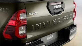 Hilux Invincible X Hadir Dengan Tanda Seronok Pada Pintu Baknya