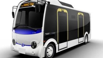 Hino Poncho Z EV, Bus Listrik Siap Dipasarkan Tahun Depan