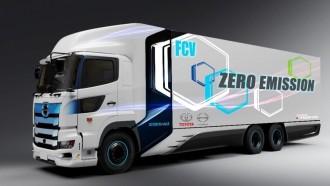 Baru Diuji 2022, Hino Sudah Tetapkan Jadwal Tes Truk Fuel Cell