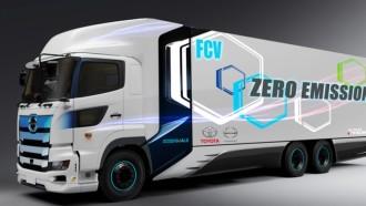 Toyota dan Hino Kroyokan Bikin Truk Berbahan Bakar Hidrogen
