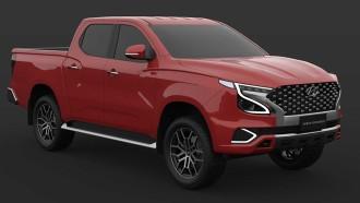 Rendering  Pikap Hyundai Menurut Desainer Asal Filipina