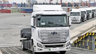 Intip Spek Hyundai Xcient Fuel Cell, Truk Heavy Duty Pertama di Kelasnya