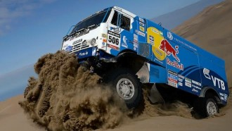 Tengok Persiapan Truk Di Dakar Rally, Kamaz Master Team