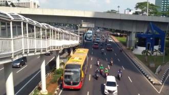 Ada Pekerjaan Terowongan Silaturahmi, Rute Transjakarta Dialihkan