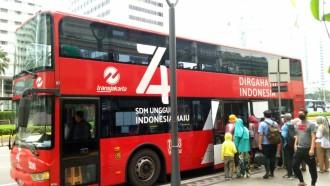 Bus Tingkat Wisata Stop Operasional Saat PSBB, Rute Transjakarta Masih Normal