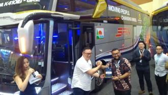 Perdana Sejak 30 Tahun Beroperasi, PO SAN Pakai Bus Adi Putro
