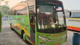Seperti Ini Detail Bus 'Legendaris' PO Gunung Harta, Masih Berkaca Tunggal
