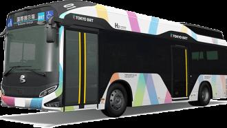 Armada Tokyo BRT, Gunakan Bus Fuel Cell dan Hybrid Diesel