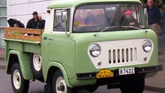 Jeep FC, Jeep Pesek Yang Sempat Laris Di Amerika
