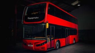 Bus Double Decker Ini Bertenaga Listrik Berdaya Tempuh 402 Kilometer
