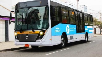 E-Titan Bus Listrik Pertama Peru, Dibantu Insinyur Formula-E