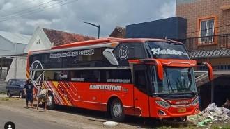 Ada Yang Beda Pada Sleeper Bus Buat Trayek Sulawesi Ini