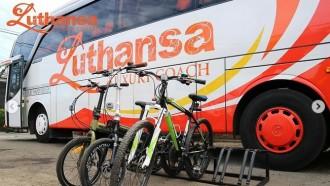 Asyik Nih, Bisa Bersepeda Di Luar Kota Dengan Bus Luthansa