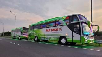 Dua Bus Maju Lancar Hadir Dengan Livery Baru