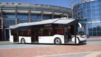 MAZ, Asal Belarusia Kenalkan Bus Listrik