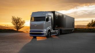 Mercedes-Benz GenH2 Truk Hidrogen Fuel-Cell, Siap Masuk Lini Produksi