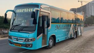 Seperti Ini Penampakan Sleeper Bus India, Tampang Jadul Interior Ala Hotel