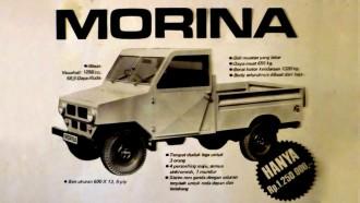 Morina, Mobil Murah GM Yang Berkarir Singkat