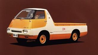 Tak Disangka, 50 Tahun Lalu Nissan Sudah Membuat Pikap Listrik