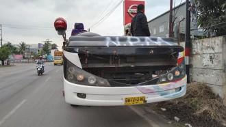 NPM Remajakan Body Bus Mereka, Siap Berbaju Legacy SR2