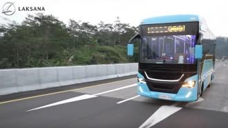 Ini Detail Nucleus 5 Dari Laksana, Medium Bus Pertama Berlantai Rendah