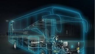 Medium Bus Mercedes-Benz OF 917 di Indonesia Disempurnakan