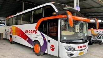 Bus Baru PO Bagong, Pakai Bodi Avante Model Lawas