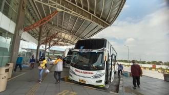 Pelarangan Mudik Bikin Perusahaan Bus Makin Sekarat