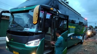 Kini PO Putera Mulya Hadirkan Bus Social Distancing