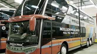 Ada Dua Rute Baru Dari PO Rosalia Indah, Langsung Andalkan Bus Tingkat