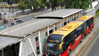 Damri Resmi Pensiunkan Bus Gandeng Zhongtong Untuk Transjakarta