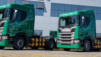 Brazil Mulai Operasikan Truk BBG Scania, Untuk Angkut Kosmetik