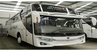 Adiputro Membuat Bus Pertambangan Berbasis Scania
