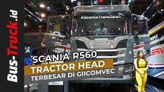Video: Melihat Lebih Dekat, Scania R560, Truk Terbongsor Di GIICOMVEC 2020