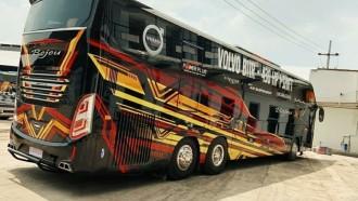 Saingi Suite Class, PO Bejeu Andalkan Bus Bersasis Volvo B11R