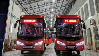 Bus Rapid Transit Trans Jateng Siap Sapa Borobudur