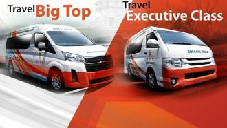 Naik Travel Big Top Rosalia Indah, Solo-Surabaya Hanya 3 Jam