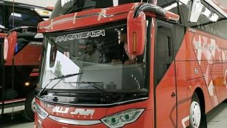 PO Muji Jaya Borong Bus Baru Untuk AKAP dan Pariwisata