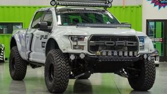 Pikap Ford Raptor Milik Ken Block, Lampunya Banyak Banget!