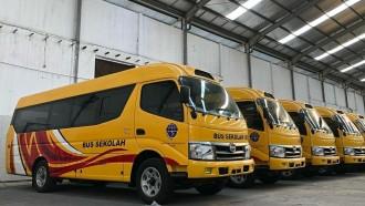 Puluhan Bus Sekolah Baru Siap Hadir di Indonesia